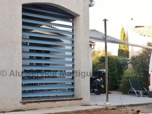 Installation Cloisons Terrasses Sur-Mesure Marseille - Alu Service